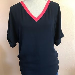 Bellatrix Blouse Navy Size: Medium